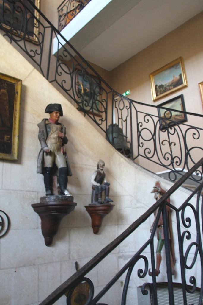 Hall d'entrée du musée Dupuy-Mestreau de Saintes