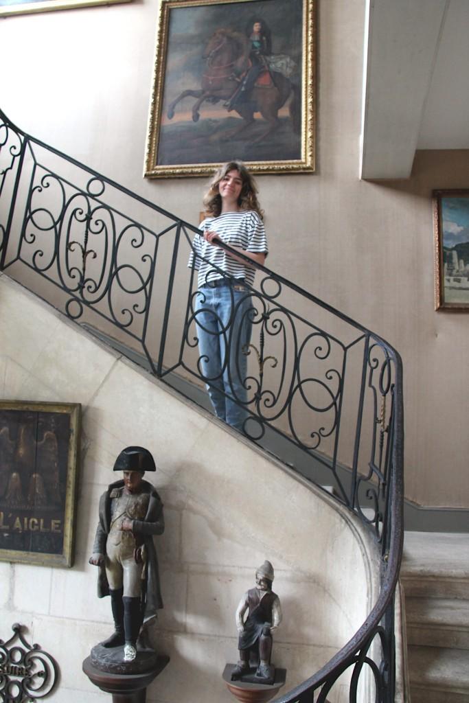 Lola au musée Dupuy-Mestreau