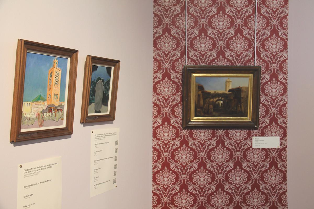 orientalisme au musée de l'échevinage