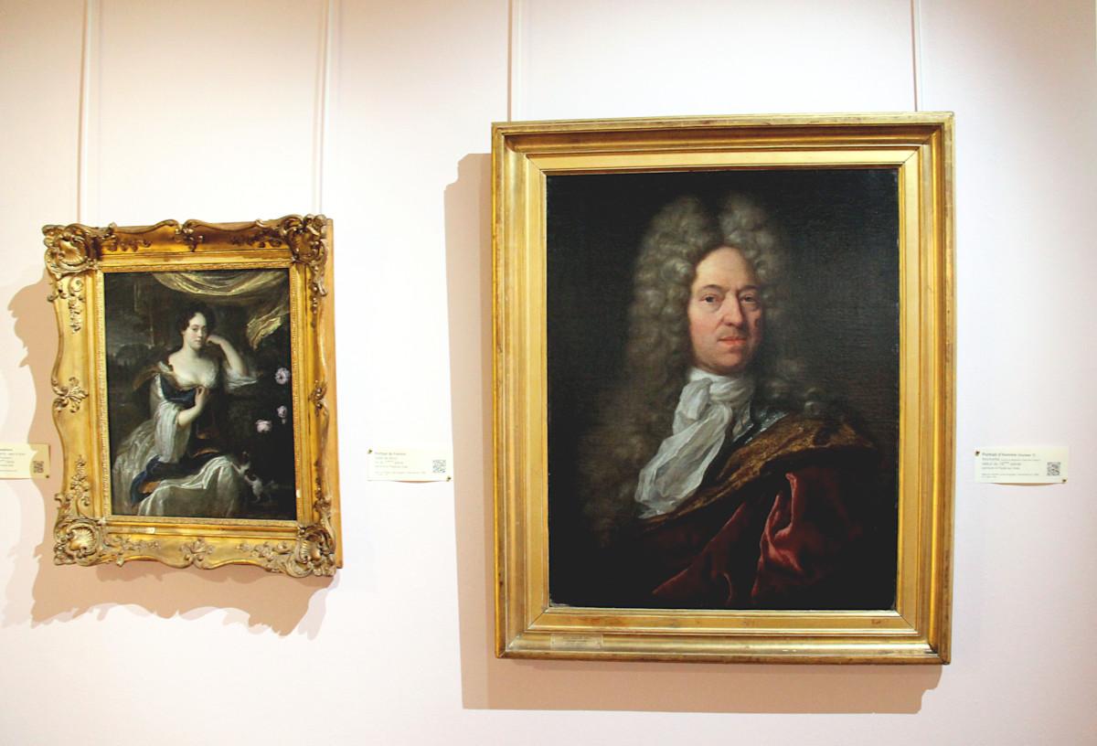 deux portraits dont un présumé représentant Vauban au musée de l'échevinage